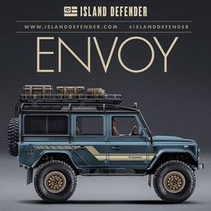 "Ok, let's try something different. Ever since I saw what the donor vehicle for my @ecdautodesign 110 looked like, I've been wanting to do something ""retro"" in it's honor. Not a period-correct vintage ""county"" classic, but a ""modern"" Defender with a vintage flair. I'm honestly not sure what I think about this look, but I feel inspired to try a few versions. A retro concept screams out for a white safari roof but I don't think it looks good with the black Roll-Cage. And the roll-cage had to…"