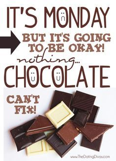 Image result for chocolate monday