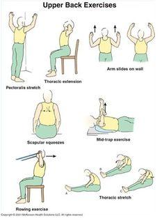 9 Best Upper back stretches images | Upper back stretches ...