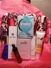 DELUXE SKIN CARE LOT W/MAKEUP BAG (HYDROXATONE) FREE SHIPPING $28