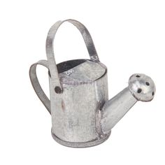 112 dollhouse miniature garden accessory tin metal watering can spout gardening - Beste Wohnzimmerzubehor