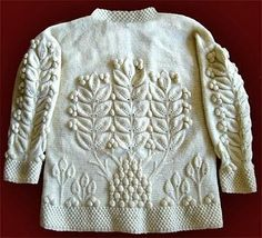 Wilderness with a reversed tuck stitch!  Pattern by Martin Storey from Pioneer  (Rowan), knit by Dayana Knits.