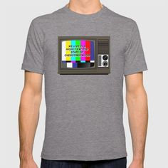 """A vector artwork inspired by David Cronenberg's 1983 sci-fi horror film, """"Videodrome"""" quoting the line of Debbie Harry's character (Nicki Brand): """"I live in a highly excited state of overstimulation.""""  #videodrome #cronenberg #davidcronenberg #horror #massmedia #film #art #tees #retro #vector #digital"""