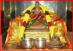 SRIMAN VENKATANAATHAARYA: KAVI THAARKIKA KESAREE I VEDHANTHAACHARYAVARYO MEH SANNIDHATATHAAM SADHAA HRUDHI II  In this multifaceted master-piece of a Kavyam of RPS, Swami Desikan has celebrated the glories of the two PAADHUKHAAS (sandals) adorning and supporting the lotus feet of the Lord of Srirangam. This suprasiddha (highly revered) kavyam has 1,008 verses housed in 32 chapters (Paddhathis).