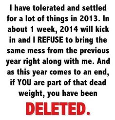 refuse to let anything else bring me down this year