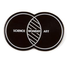 Imaginary Foundation Science Art Wonder Pin - ACCESSORIES