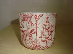 BJØRN WIINBLAD vase 1970s. #bjørnwiinblad #danishdesign #danishceramics #ceramics #danskkeramik #keramik #vase #vas. From www.TRENDYenser.com. SOLGT.