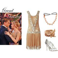 Gold Gatsby dress, inspiration for Mobella Events, Event Planner Orlando, www.mobellaevents.com