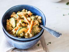 Veganes Kichererbsen-Curry mit Kurkuma