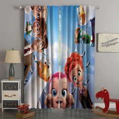 3D Printed Storks Style Custom Living Room Curtains – Westbedding 3d Curtains, Custom Curtains, Blackout Curtains, Panel Curtains, Storks, Digital Prints, Weaving, Living Room, Printed