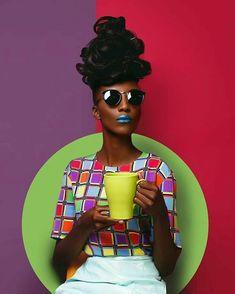 Le mannequin kenyan VICTOR PEACE pose pour le photographe de mode Kevoa Abbra