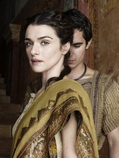 "Rachel Weisz and Max Minghella in ""Agora"""