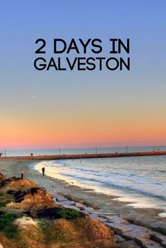 Hopping on or off a cruise? Spend a day (or two) exploring! #texas #galveston #traveltx #beach