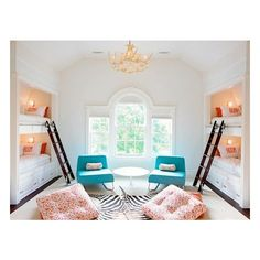6 Summer Bunk Bed Rooms found on Polyvore