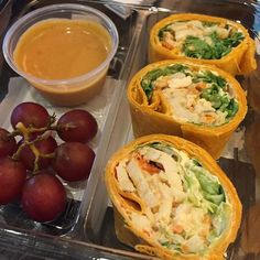 Some new food selections at Starbucks. Thai peanut chicken wrap #Starbucks