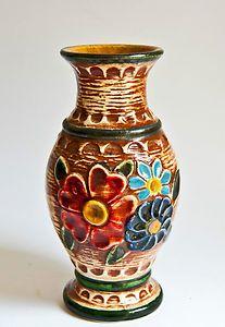 Modernist Retro West German Vase - Bay Keramik Floral
