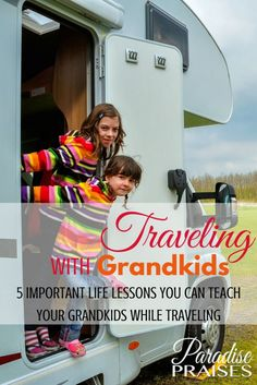 Ever wonder what you could teach your grandkids? Here are 5 life lessons I learned traveling with grandparents and how you can impact your grands too. Camping With Kids, Travel With Kids, Family Travel, Rv Camping, Child Travel Consent Form, Important Life Lessons, Grandkids, Grandchildren, Country Girl Quotes
