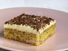 Blechkuchen Süßer Orgasmus • Rezept   weltinmir.de