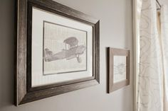 vintage airplane decor, boy's nursery