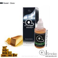Sweet-Doce Qismoke 30ml Óleo de fumo 2ª geração