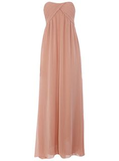 First I want this for my closet but it would also be a pretty (and inexpensive) bridesmaid dress