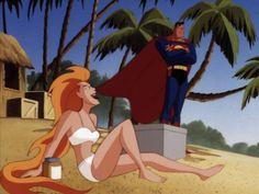 superman the animated series volcana - Buscar con Google
