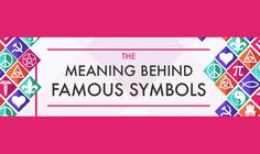 Certain symbols have become so common, we've stopped wondering if they have a deeper meaning than what we've come to know. Refresh your vision with this fascinating infographic from ParrotPrint, and check learning a little history from your to-do list today.