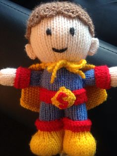 My Aunty knitted this wee cutie for my boy. http://www.craftsy.com/pattern/knitting/toy/superman/107729?_ctp=107729&_ct=iuqhsx-kdyluhiqb-huikbj-fqjjuhd&NAVIGATION_PAGE_CONTEXT_ATTR=PATTERN