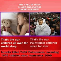Israel and Palestinian children