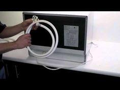 EdgeStar - DWP61ES Countertop Dishwasher Setup and Installation - YouTube