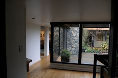 Interior courtyard.. Fabulous in Canada ..let the light in