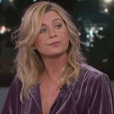 Ellen Pompeo, Celebrity Pix, Meredith Grey, Greys Anatomy, My Idol, Hair Color, Hair Beauty, Actresses, Celebrities
