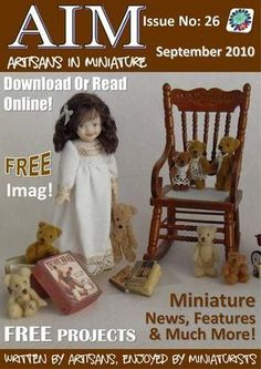 The diary of a 50 year old woman trying to find time in her busy daily life to make Dollhouse miniature food. Miniature Rooms, Miniature Fairy Gardens, Miniature Kitchen, Miniature Furniture, Dollhouse Dolls, Dollhouse Miniatures, Living Dolls, Doll Furniture, Dollhouse Furniture