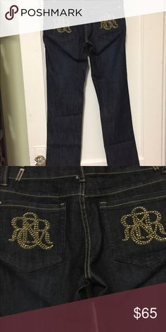 f28e90a5b5cc5 Rock and Republic studded low rise jeans size 29 NWOT studded jeans by Rock  and Republic