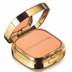 dolce and gabana  cosmetics | Dolce & Gabbana Perfect Finish Powder Foundation | vogue folk