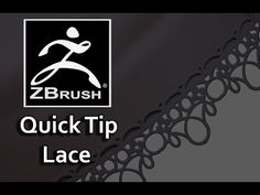 Zbrush Lace Quick Tip - YouTube