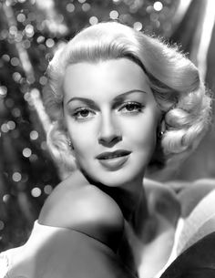 Lana Turner- Apparently this is exactly what my grandma looked like :)