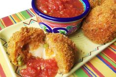 Mexican Rice Balls Turn your rice leftovers into a delicious appetizer ...