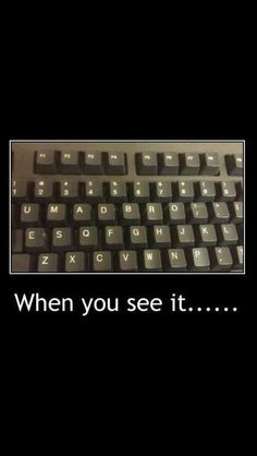 Have you laughed today? Enjoy the meme 'when you see it.' uploaded by Memedroid: the best site to see, rate and share funny memes! When U See It, Let It Be, Funny Quotes, Funny Memes, Hilarious, Meme Gifs, Really Funny, The Funny, Funny Pins
