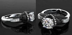 Wedding ring Sapphire Studios  Aphrodite