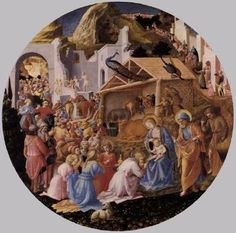 Fra Angelico (c. 1445, possibly with the assistance of Fra Filippo Lippi).