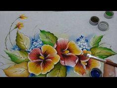 Roberto Ferreira - Pintura em Tecido Amor Perfeito - YouTube