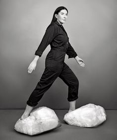 Photographs by Ruven Afanador,  Marina Abramovic for New York Magazine
