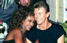 David and Iman Jones[Bowie]