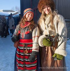 The horse people of Rørosmartnan Two Ladies, Fur Coat, Horses, Lady, Norway, People, Jackets, Photography, Travel