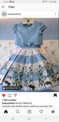 Little Dresses, Little Girl Dresses, Girls Dresses, Simple Outfits, Kids Outfits, Little Girl Closet, Pretty Little Dress, Baby Suit, Vintage 1950s Dresses