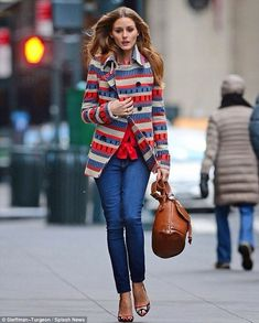 Skinny Jeans - 20 Urban Style Fashion Trendest Look You Can Copy #urban #style #fashion #outfit Lässiger Look, Love Her Style, Olivia Palermo Outfit, Olivia Palermo Lookbook, Olivia Palermo Style, Fashion Moda, Urban Fashion, Love Fashion, Autumn Winter Fashion