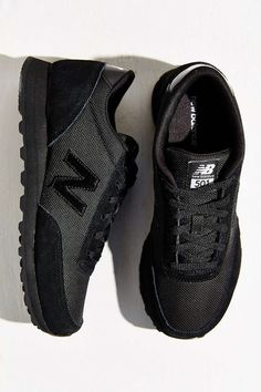 all black sneakers