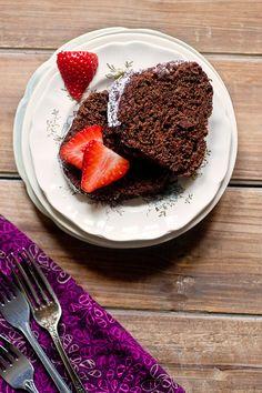 #vegan chocolate yogurt bundt cake