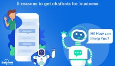 Chatbots are not just bots, but they work as advisors, managers, virtual assistants and helpers. With the developments in the chatbot for business, it has been found that we won't be able to distinguish between a chatbot and a human representative by Artificial Intelligence, Virtual Assistant, Machine Learning, Entrepreneur, Investing, Management, Family Guy, Technology, Business
